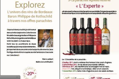Feuillet Baron Philippe de Rothschild
