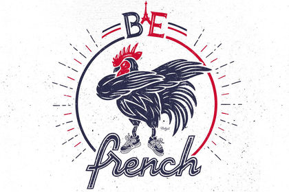 Be french