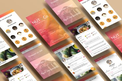 Nut&Co, application mobile