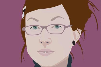 Portrait graphique