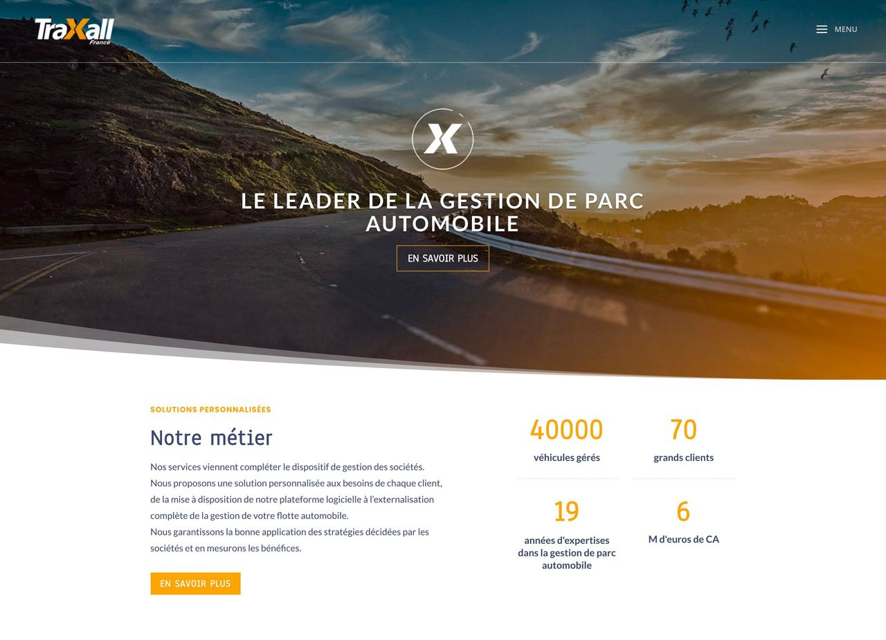 Site internet TRAXALL