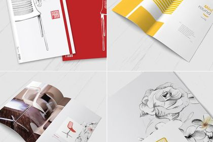 Catalogue print - Illustrations