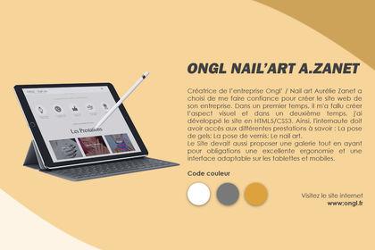 ONGL NAIL' ART / Auréliz Zanet