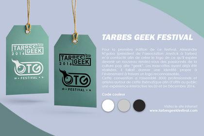 Logo Tarbes Geek Festival