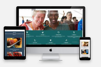 Web Design du site d'un festival