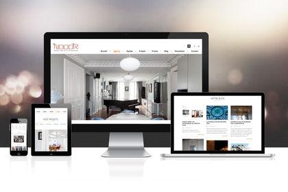 Site web architecte d'intérieur parisien