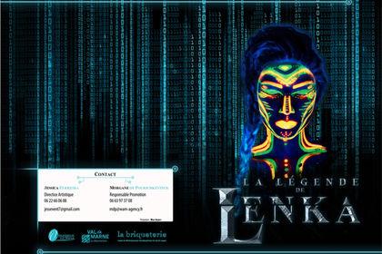 Plaquette Commerciale La Légende de Lenka