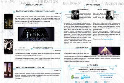 Plaquette comerciale La légende de Lenka 2