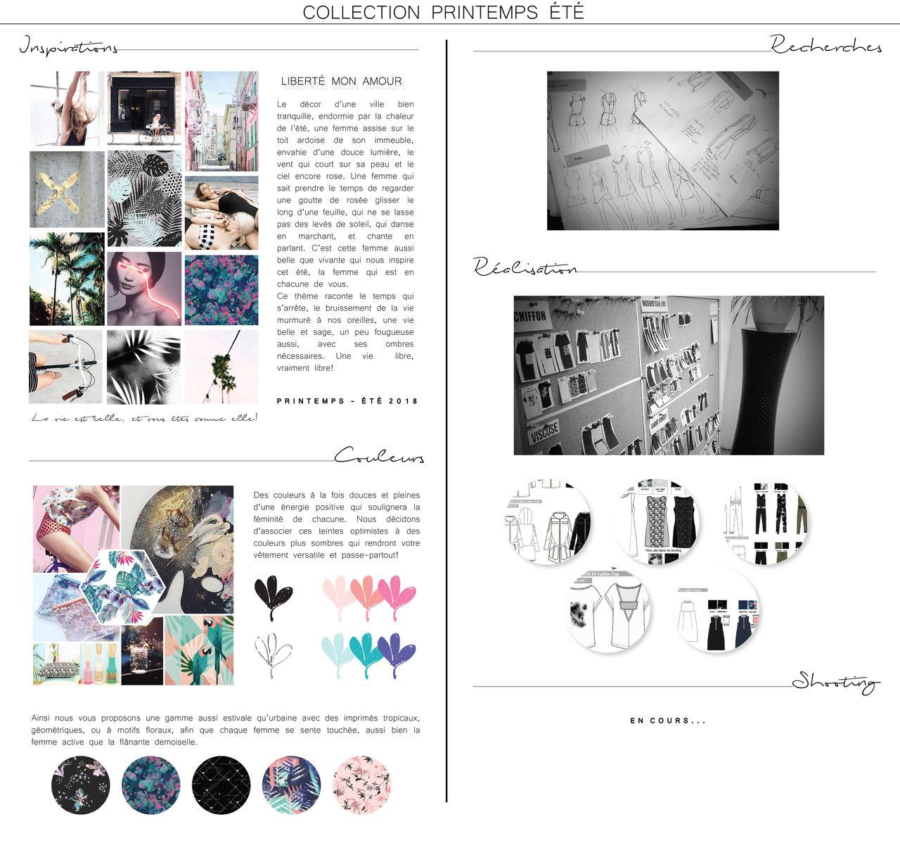 Stylisme - Recherches tendances - Élaboration