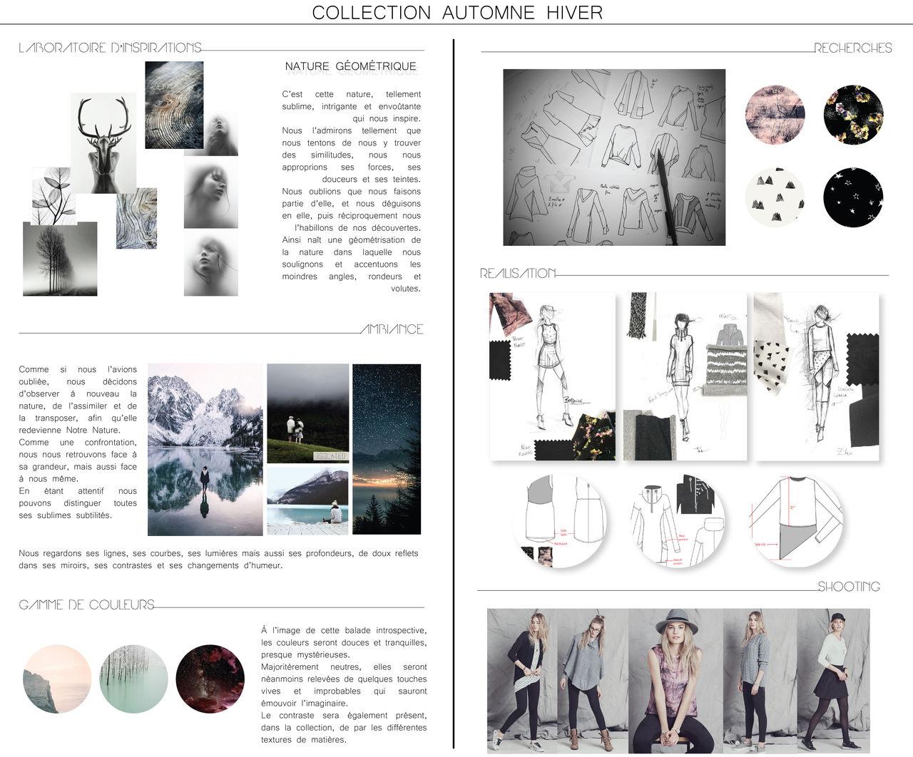 Stylisme - Élaboration Collection