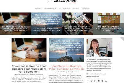 Création d'un blog
