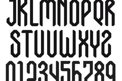 Arabic typographie