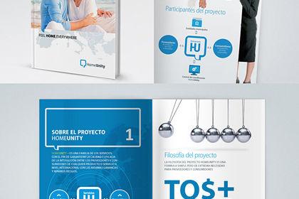 Brochure d'un service immobilier
