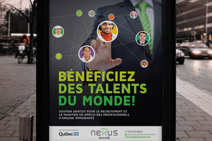 Conception de l'affiche Emploi Nexus