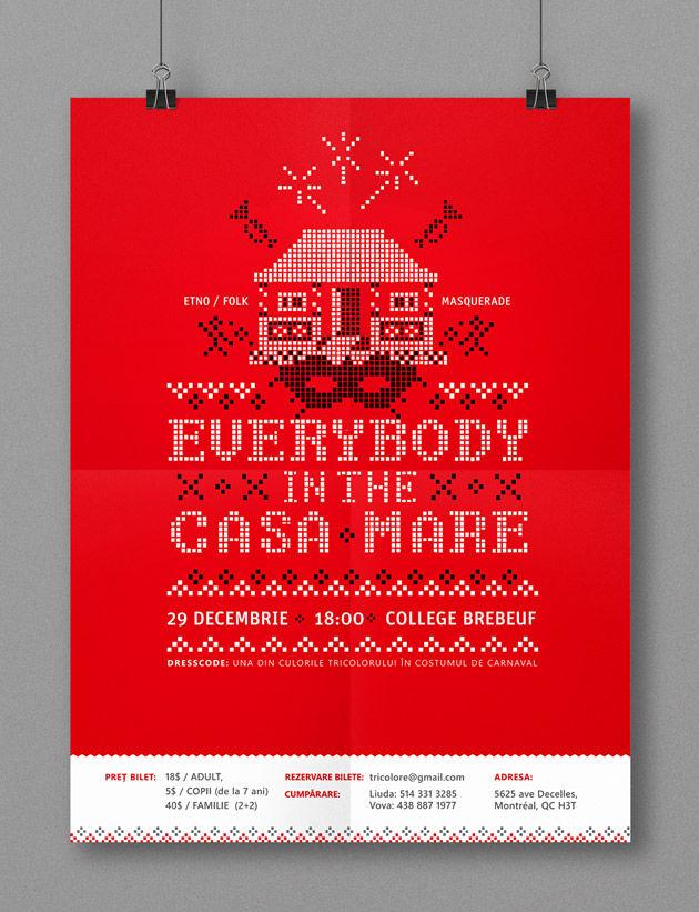 Poster Ethno Folk Party