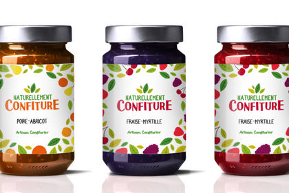 Packaging Naturellement Confiture