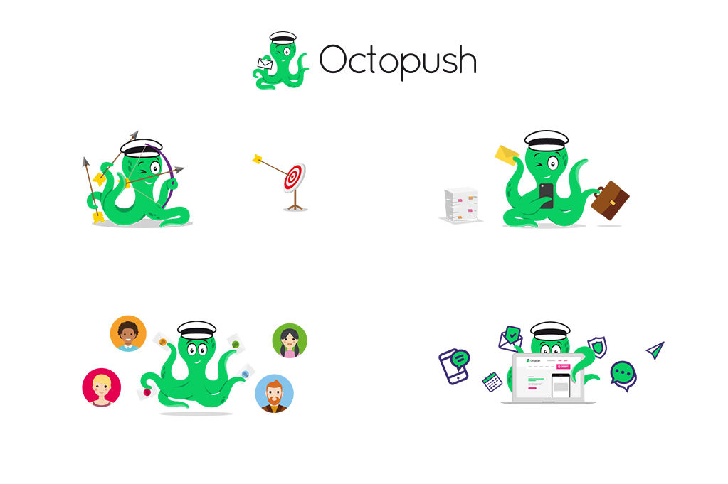 Illustration - Mascotte Octopush
