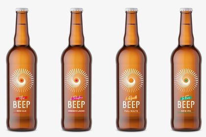 Packaging bière Beep