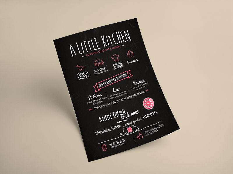 Flyer - A Little Kitchen
