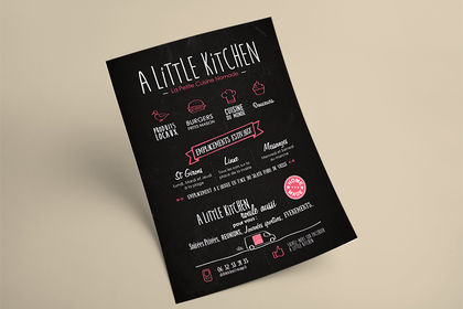 Flyer - A Little Kitchen
