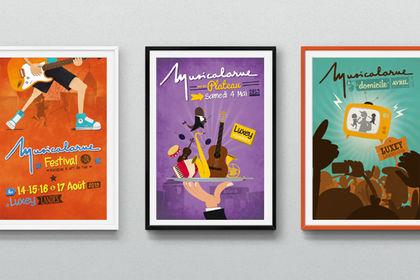 Poster Musicalarue