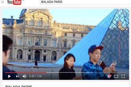 Vidéo Youtube - Ballade à Paris