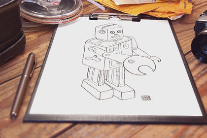 Illustration robot