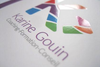 Carte de visite Karine Gouin