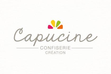 Logo confiserie Capucine