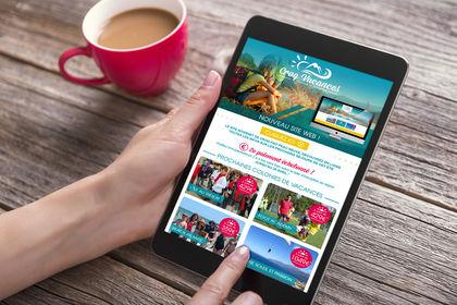 Site web Croq Vacances