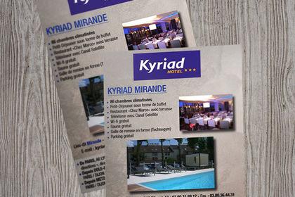 Flyer – Hôtel Kyriad