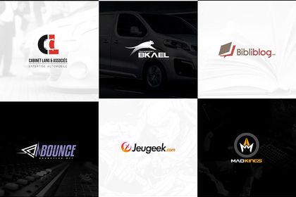+ de logos