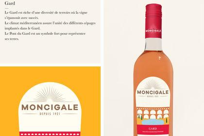 Étiquettes Packaging Moncigale I Rosapark.
