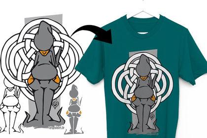 T-shirt Aarwn Deh