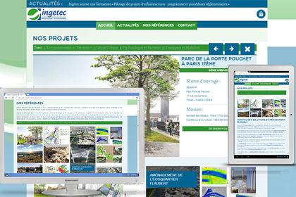 Site internet Ingetec