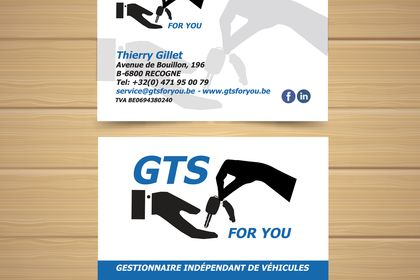 """Carte de visite """"GTS for you"""""""
