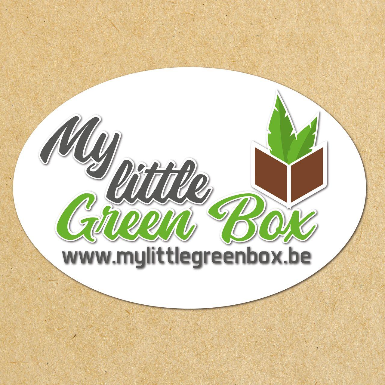 "Logo ""My little green box"""
