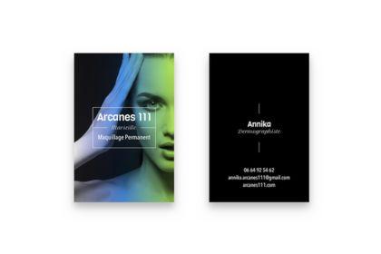 Carte de visite Arcanes 111