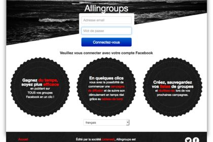 Logo / Webdesign pour AllinGroups