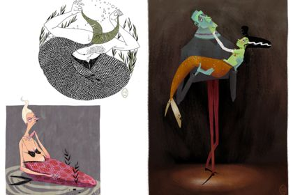 Sirènes - Character design