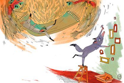 Les trois petits Loups - Illustration jeunesse