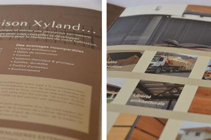 Plaquette de l'entreprise Xyland