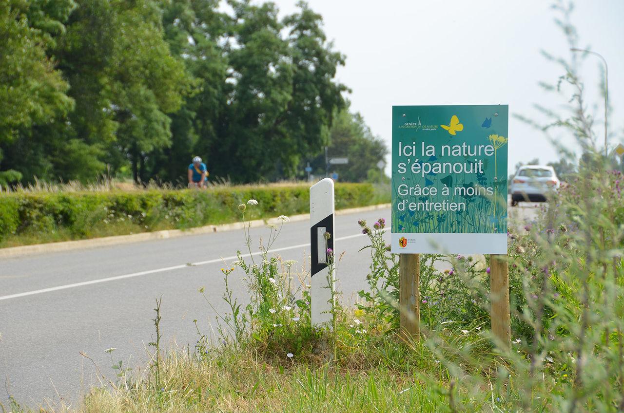 Panneaux pour l'Etat de Genève