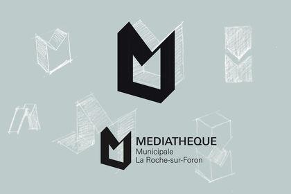 Logo Médiathèque municipale La-Roche-sur-Foron