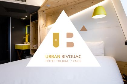 Urban Bivouac  I  Hôtel Paris