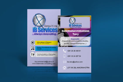 Carte de visite Ibservices-consulting