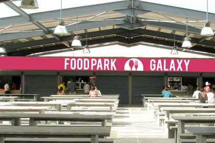 Habillage Food Park Galaxy