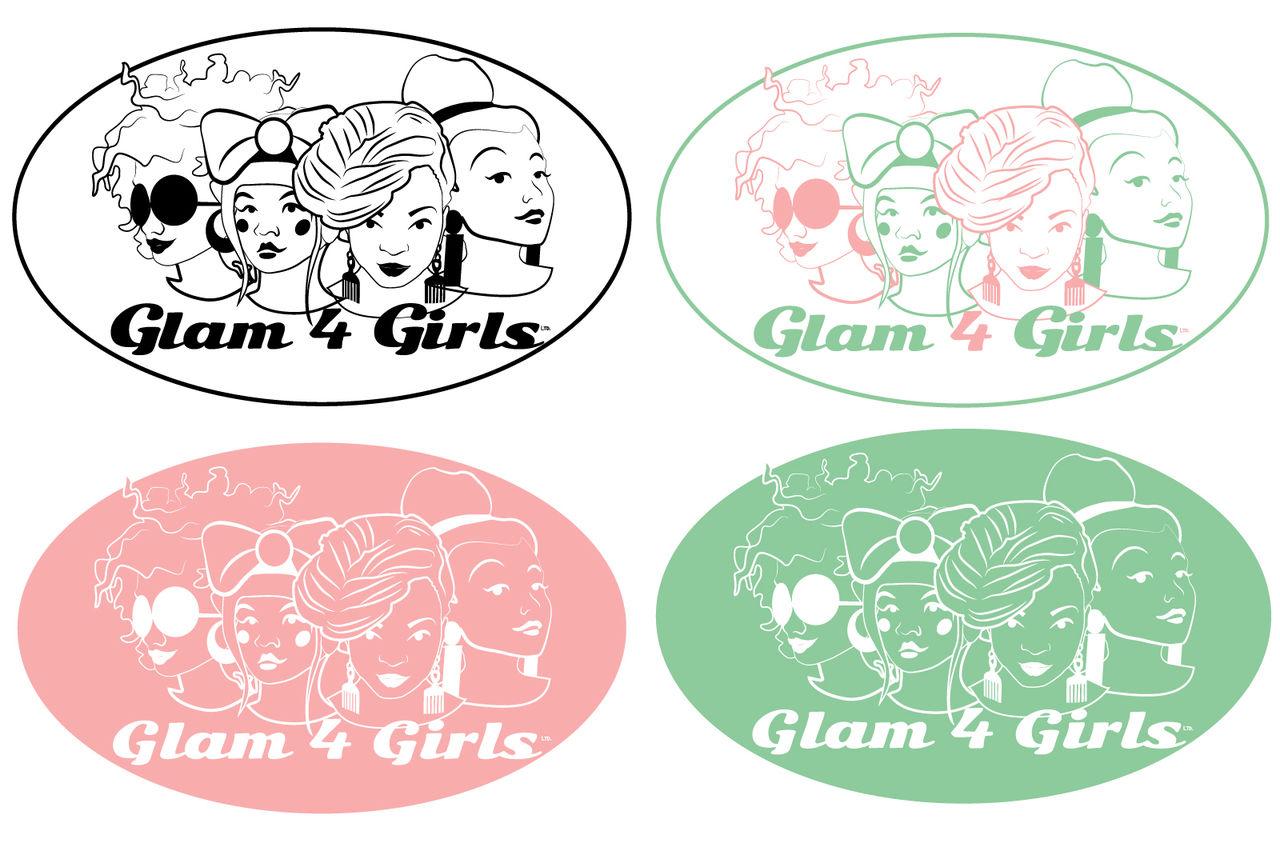 Logo Glam 4 Girls