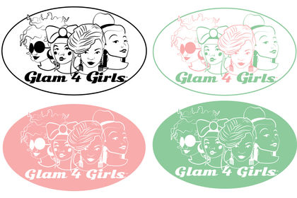 Logo Glam 4 Girls
