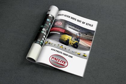 Publicité presse Paclite Equipment